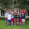 St. John's 2012 Varsity Basketball Team Portrait
