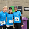 Image features L to R: Orshie, Anna & Laura before the race. <br /> dlr Community 5K, took place on Saturday 12th October 2013 at 2pm in Kilbogget Park, Ballybrack.<br /> Now in its 5th year, this family fun event brings together the whole community: people of all ages and abilities. Once again kicking off Social Inclusion Week, all fitness levels were welcome where you can walk, jog, run, wheel or push a buggy.<br /> The 5-kilometre route took participants around the picturesque Kilbogget Park and was suitable for all levels of ability and fitness.  This annual event is organised by DLR Sports Partnership and its partners Dún Laoghaire-Rathdown County Council, dlr Leisure Services, the HSE, Cabinteely Athletic and Football Clubs and Sallynoggin College.<br /> For further information contact Dún Laoghaire-Rathdown Sports Partnership Tel. 01-2719502