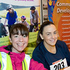 Image features Gillian Moore & Anne Mynes who were registering participants for the race.<br /> dlr Community 5K, took place on Saturday 12th October 2013 at 2pm in Kilbogget Park, Ballybrack.<br /> Now in its 5th year, this family fun event brings together the whole community: people of all ages and abilities. Once again kicking off Social Inclusion Week, all fitness levels were welcome where you can walk, jog, run, wheel or push a buggy.<br /> The 5-kilometre route took participants around the picturesque Kilbogget Park and was suitable for all levels of ability and fitness.  This annual event is organised by DLR Sports Partnership and its partners Dún Laoghaire-Rathdown County Council, dlr Leisure Services, the HSE, Cabinteely Athletic and Football Clubs and Sallynoggin College.<br /> For further information contact Dún Laoghaire-Rathdown Sports Partnership Tel. 01-2719502