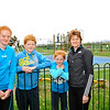 Image features L to R: Hannah, Josh, Zoe & Jennifer Garvey<br /> dlr Community 5K, took place on Saturday 12th October 2013 at 2pm in Kilbogget Park, Ballybrack.<br /> Now in its 5th year, this family fun event brings together the whole community: people of all ages and abilities. Once again kicking off Social Inclusion Week, all fitness levels were welcome where you can walk, jog, run, wheel or push a buggy.<br /> The 5-kilometre route took participants around the picturesque Kilbogget Park and was suitable for all levels of ability and fitness.  This annual event is organised by DLR Sports Partnership and its partners Dún Laoghaire-Rathdown County Council, dlr Leisure Services, the HSE, Cabinteely Athletic and Football Clubs and Sallynoggin College.<br /> For further information contact Dún Laoghaire-Rathdown Sports Partnership Tel. 01-2719502