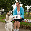 Beautiful dog checks out his number for the race!<br /> dlr Community 5K, took place on Saturday 12th October 2013 at 2pm in Kilbogget Park, Ballybrack.<br /> Now in its 5th year, this family fun event brings together the whole community: people of all ages and abilities. Once again kicking off Social Inclusion Week, all fitness levels were welcome where you can walk, jog, run, wheel or push a buggy.<br /> The 5-kilometre route took participants around the picturesque Kilbogget Park and was suitable for all levels of ability and fitness.  This annual event is organised by DLR Sports Partnership and its partners Dún Laoghaire-Rathdown County Council, dlr Leisure Services, the HSE, Cabinteely Athletic and Football Clubs and Sallynoggin College.<br /> For further information contact Dún Laoghaire-Rathdown Sports Partnership Tel. 01-2719502