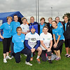 Image features L to R: Back Row- Yvonne, Grace, Majella, Shirley, Mary, Amanda, Niamh, Debbie. Front Row: L to R - Philipa, Colm (Coach), Audrey, Nicole.<br /> dlr Community 5K, took place on Saturday 12th October 2013 at 2pm in Kilbogget Park, Ballybrack.<br /> Now in its 5th year, this family fun event brings together the whole community: people of all ages and abilities. Once again kicking off Social Inclusion Week, all fitness levels were welcome where you can walk, jog, run, wheel or push a buggy.<br /> The 5-kilometre route took participants around the picturesque Kilbogget Park and was suitable for all levels of ability and fitness.  This annual event is organised by DLR Sports Partnership and its partners Dún Laoghaire-Rathdown County Council, dlr Leisure Services, the HSE, Cabinteely Athletic and Football Clubs and Sallynoggin College.<br /> For further information contact Dún Laoghaire-Rathdown Sports Partnership Tel. 01-2719502