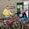 Image features Chelsea and Holly who were cycling on their bikes for the race.<br /> dlr Community 5K, took place on Saturday 12th October 2013 at 2pm in Kilbogget Park, Ballybrack.<br /> Now in its 5th year, this family fun event brings together the whole community: people of all ages and abilities. Once again kicking off Social Inclusion Week, all fitness levels were welcome where you can walk, jog, run, wheel or push a buggy.<br /> The 5-kilometre route took participants around the picturesque Kilbogget Park and was suitable for all levels of ability and fitness.  This annual event is organised by DLR Sports Partnership and its partners Dún Laoghaire-Rathdown County Council, dlr Leisure Services, the HSE, Cabinteely Athletic and Football Clubs and Sallynoggin College.<br /> For further information contact Dún Laoghaire-Rathdown Sports Partnership Tel. 01-2719502