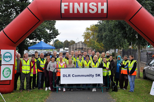dlr Community 5K, took place on Saturday 12th October 2013 at 2pm in Kilbogget Park, Ballybrack.<br /> Now in its 5th year, this family fun event brings together the whole community: people of all ages and abilities. Once again kicking off Social Inclusion Week, all fitness levels were welcome where you can walk, jog, run, wheel or push a buggy.<br /> The 5-kilometre route took participants around the picturesque Kilbogget Park and was suitable for all levels of ability and fitness.  This annual event is organised by DLR Sports Partnership and its partners Dún Laoghaire-Rathdown County Council, dlr Leisure Services, the HSE, Cabinteely Athletic and Football Clubs and Sallynoggin College.<br /> For further information contact Dún Laoghaire-Rathdown Sports Partnership Tel. 01-2719502