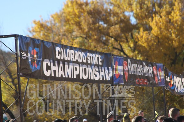 Gunnison cross country State meet