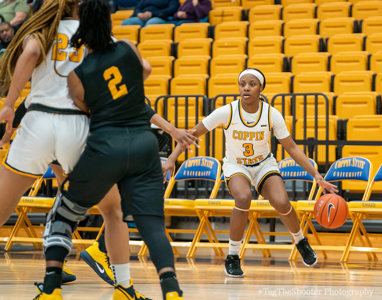 NC A&T Aggies vs Coppin State Eagles Womens Basketball