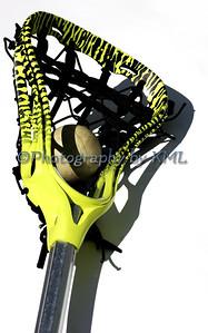 Green Lacrosse Head