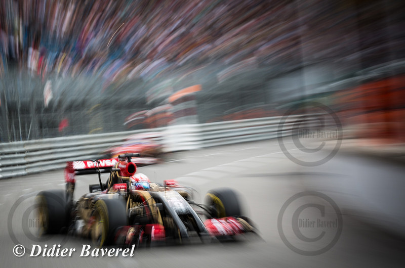 F1 GP Monaco 2014: Romain Grosjean