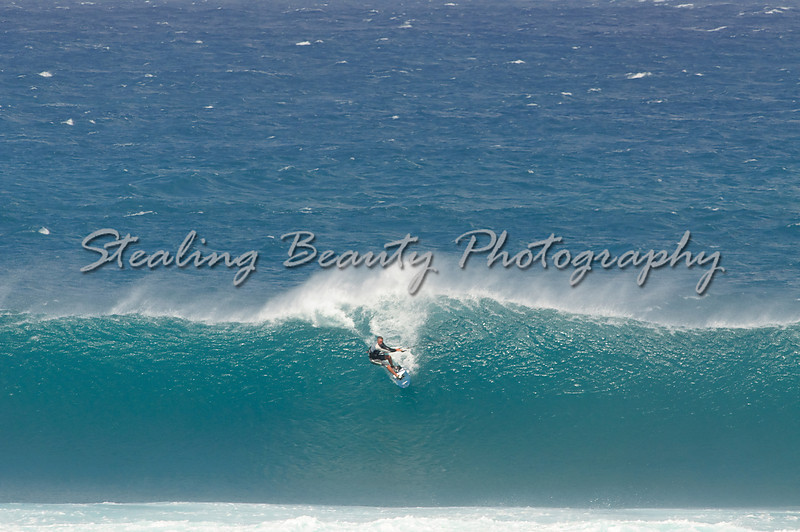 Kite surfing at Jawz