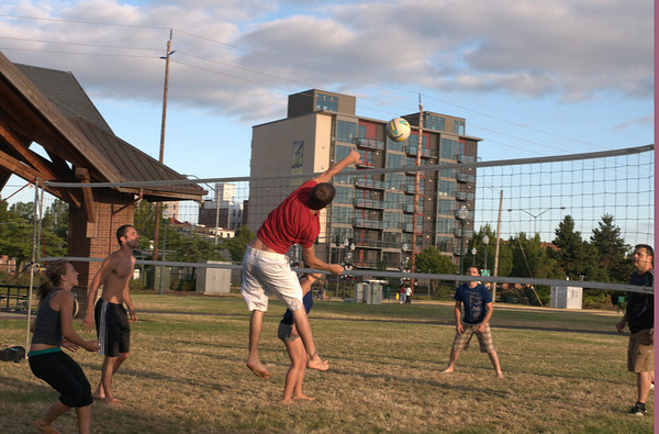 Pick-Up Volleyball