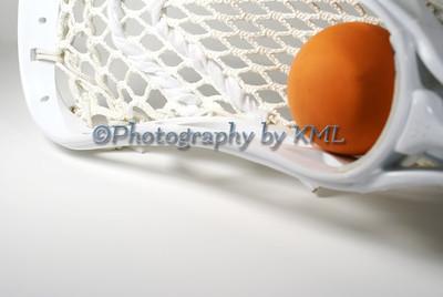 White Lacrosse Head