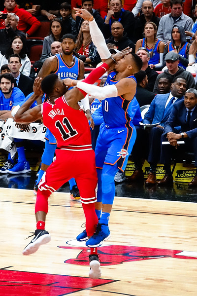 Oklahoma Thunder vs Chicago Bulls 10/28/17