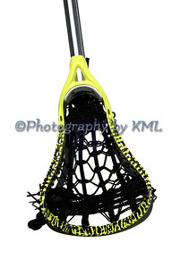 Isolated Lacrosse Stick