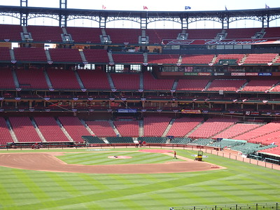 Inside Busch Stadium