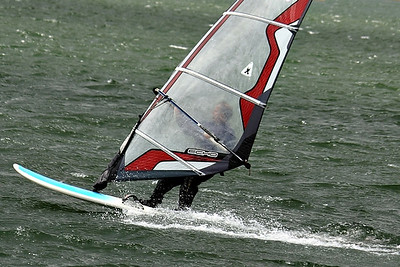 Wind surfing, Boston