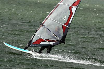 Wind surfing, Boston