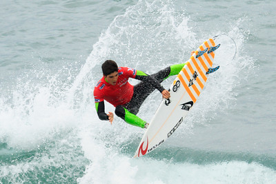 Brazil's Gabriel Medina at the 2012 U.S. Open of Surfing