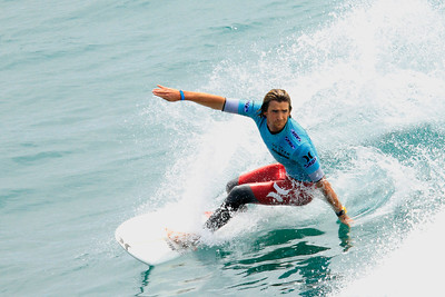 Brett Simpson at the 2012 U S Open of Surfing