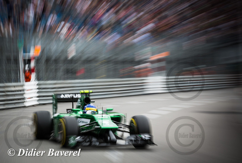 F1 GP Monaco 2014: Marcus Ericsson