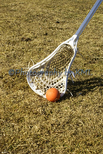 Lacrosse in the Grass