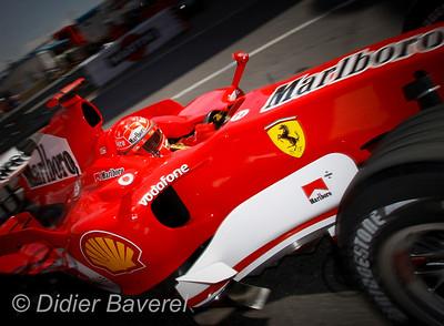 MONACO  LE 25/05/2006 Premiere Journée d'essais Libre de F1  ©Didier BAVEREL