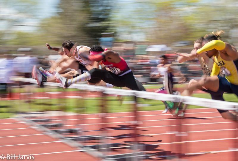Devon Montgomery, Southern Utah Winner 110 Meter Hurdles