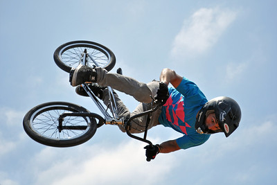 In Your Face - Craig Mast competes in the 6.0 HB BMX Pro - Huntington Beach, CA