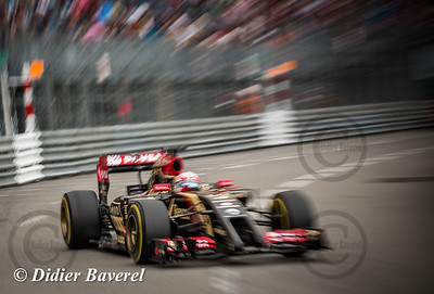 F1 GP Monaco 2014: Romain Grosjean