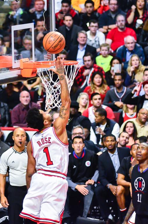 Bulls vs Clippers 12/10/2015