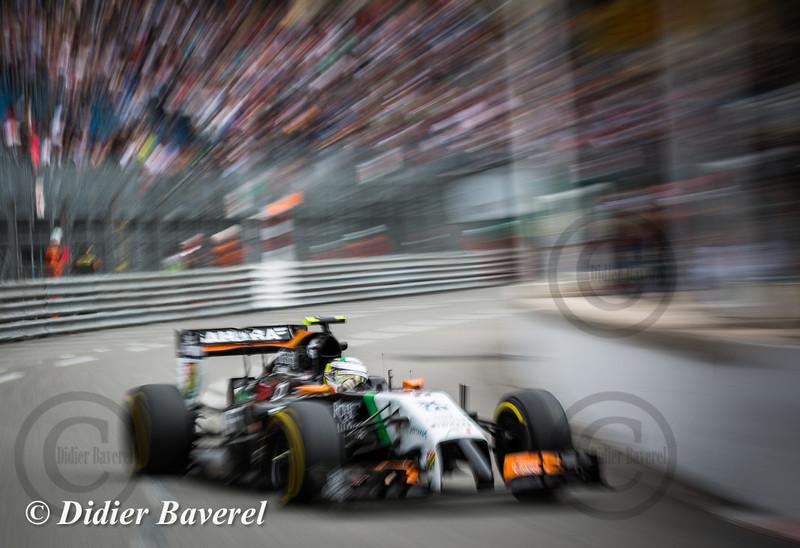 F1 GP Monaco 2014: Sergio Perez