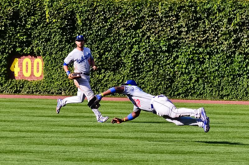 LA Dodgers vs Chicago Cubs 8/6/13