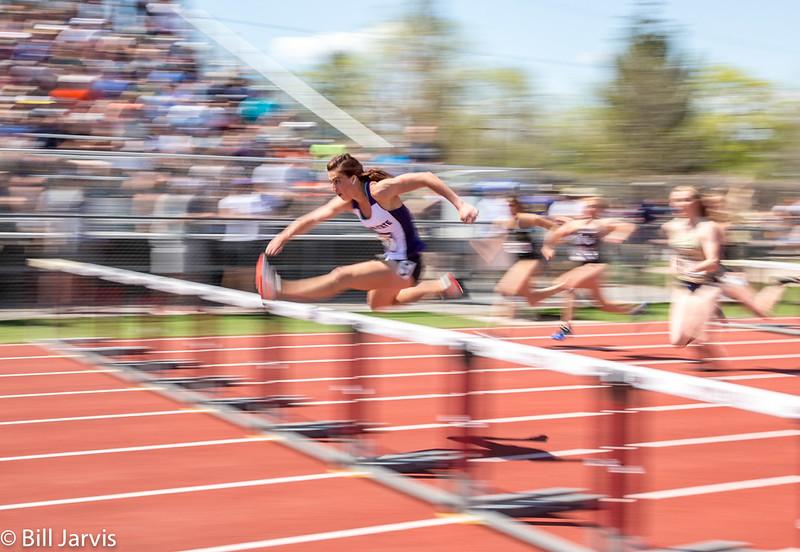 Women's 100 Meter Hurdles Winner Tawnie Moore Weber State
