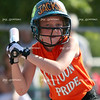 Mattoon Pride's Avery Jackson watches a pitch come in high during a game in which Mattoon won in three innings with a score of 17-5 at the Mattoon softball complex in Mattoon, Illinois on Friday, June 5, 2009. (Jay Grabiec)