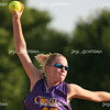 Mattoon Cobra pitcher Gabriele Bennett delivers a pitch during an sixteen-year-old and under game in which Mattoon won 2-1 at the Mattoon softball complex in Mattoon, Illinois on Friday, June 5, 2009. (Jay Grabiec)