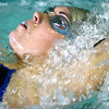 Megan Frawley during a swim meet at the Lantz auditorium on September 4, 2006.  (Jay Grabiec)
