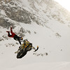 Snowmobile Stunts
