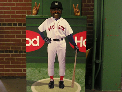 Inside Fenway Park - Boy did I have fun!
