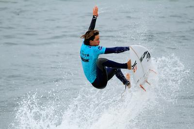 Footloose ~ Evan Geiselman, fresh off a broken fibula at the 2012 U S Open of Surfing
