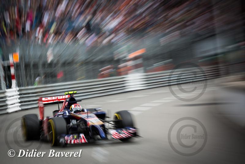 F1 GP Monaco 2014: Daniil Kvyat