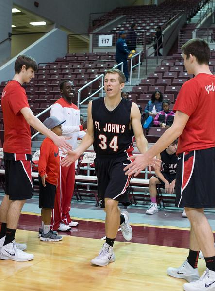 Lamar Consolidated v St. John's varsity basketball
