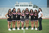 2013 SJS Varsity Cheerleader team portraits