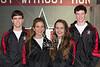 2013 SJS Varsity Winter team portraits