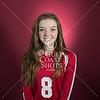 SJS 2013 Girls Varsity Volleyball portraits