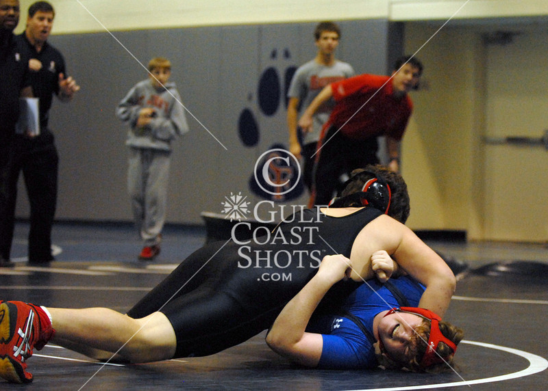 St. John's Middle School Wrestling Team versus St. Francis Middle School, Houston, TX