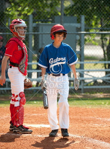 The Grady Middle School Gators take on Faith West Academy's Eagles in the inaugural Middle School Round Robin Baseball Tournament at St. John's School's Taub Field in Houston. Faith West wins.