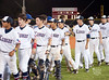 "The Lamar Redskins wear visiting white as they are hosted by the Westside Wolves in camoflauge jerseys at Ray Knoblauch Field in HISD's Butler Athletics Complex to play the rubber game in a best-of-three UIL Texas 5A Region 3 quarterfinal playoff game. Lamar pitcher Chris Lanham gets the win with a 1-hitter, 3-0 game.  Lamar advances to regional semis on 5/29. Live game log with links to roster, lineup, and gallery are at <a href=""http://gsee.es/cr"">http://gsee.es/cr</a>."