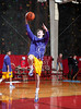 Kinkaid's Falcons play the St. Mark's Lions boys in Division 1 SPC varsity basketball. Kinkaid wins 63-59.