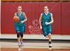 St. John's 8th grade A team girls host the HCYA Warriors in basketball. HCYA wins.