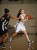 St. John's Lady Mavericks travel to Kinkaid to take on the Falcons in SPC D1 SPC tournament basketball. Kinkaid wins.