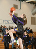 Kinkaid's Falcons play Ft. Worth Country Day's Falcons in women's division 1 SPC basketball. Falcons win 56-35.
